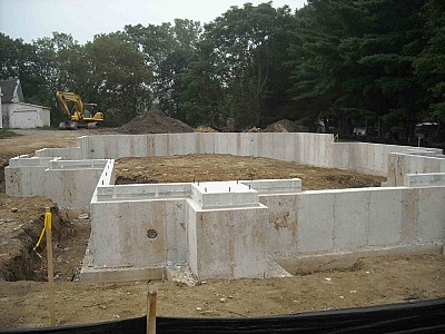 Foundation Poured August 2011