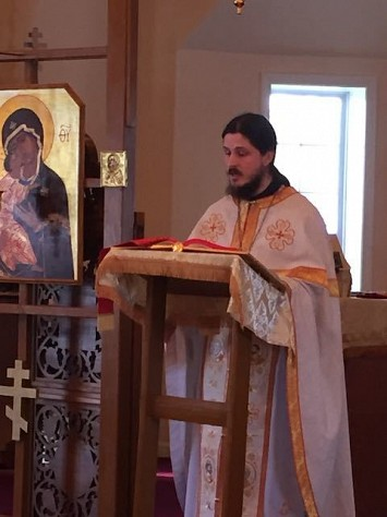 Fr. Mikel Hill at St. Nicholas 1/19/2020